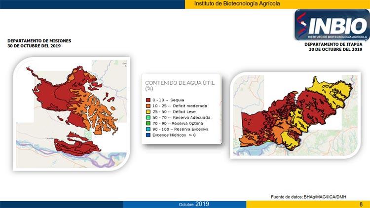 mapa Misiones - Itapúa