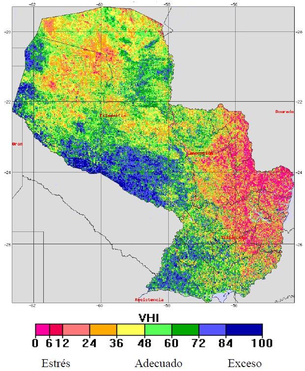 mapa indice salud vegetacion 2019