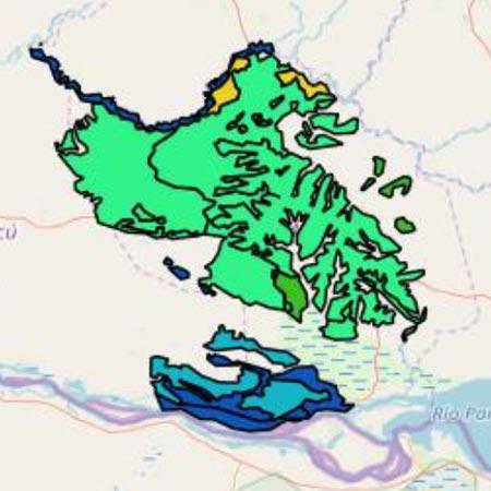 mapa Misiones