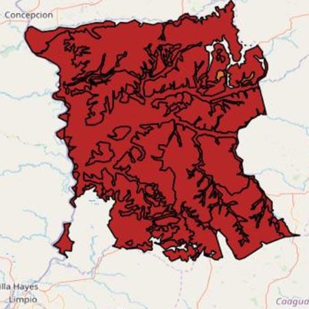 mapa San Pedro