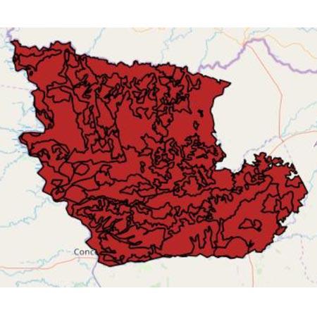 mapa Concepción