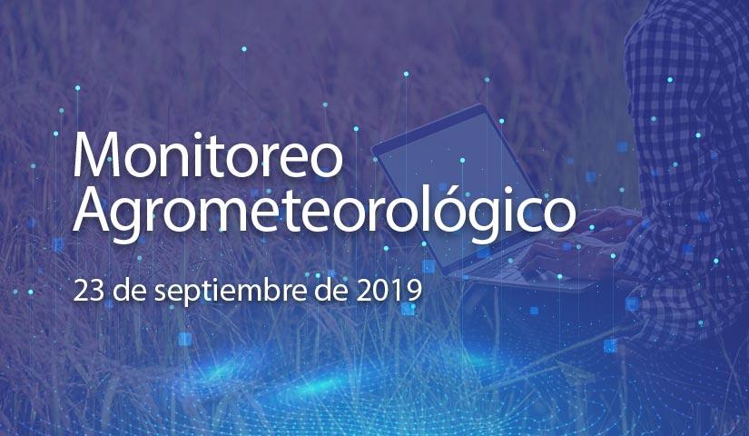 monitoreo 23/septiembre/2019