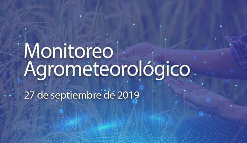 monitoreo 27/septiembre/2019