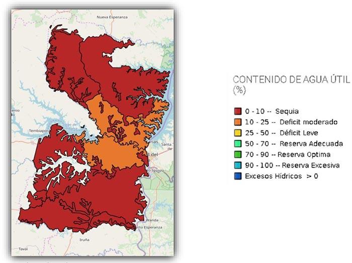 mapa Alto Paraná