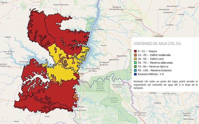 mapa Alto Parana